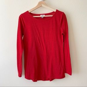 Old Navy long sleeve crew neck tee shirt